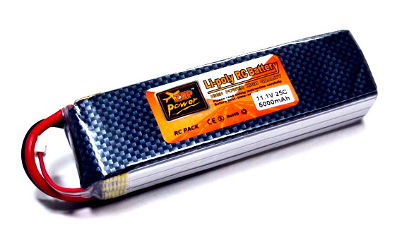 ZOP RC Model 5000mah 11.1v 25C LiPo Li-Polymer Lithium Polymer Battery RB078