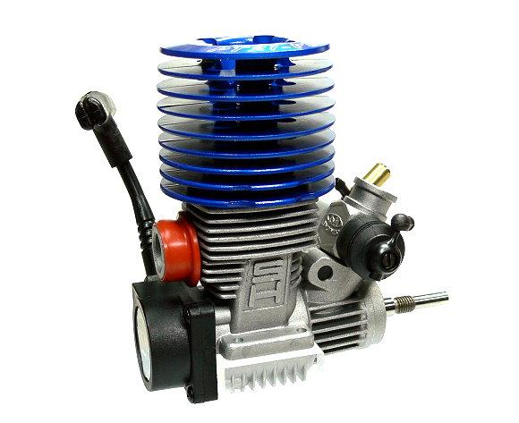 SH Engines Model Blue 21 Nitro Engine 3 48cc RC Car Buggy Truck Truggy EG635