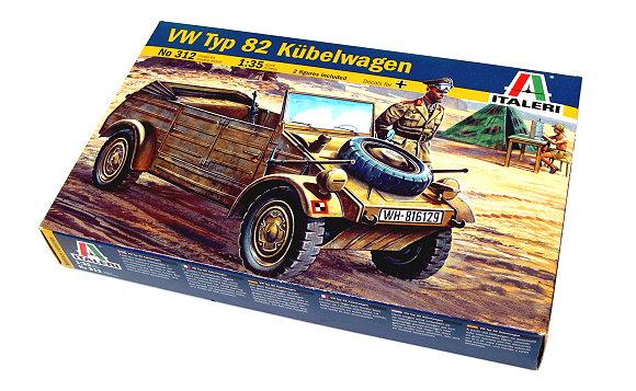 Kubelwagen Kit italeri 1:35 IT0312 Modellbau