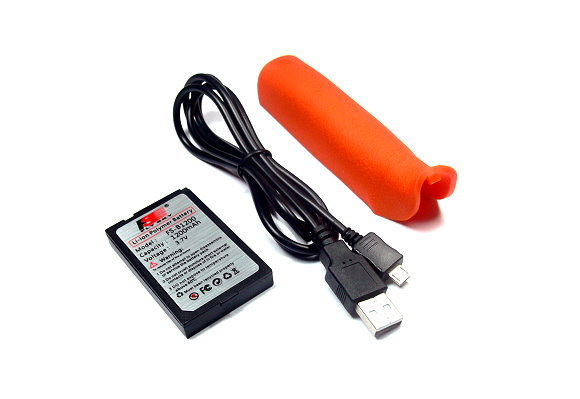FLYSKY RC Model FS-iT4 4ch 2 4GHz LCD Orange Transmitter