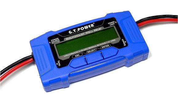 GT POWER RC Model Mini 30A Walt Meter and Power Analyzer BK305