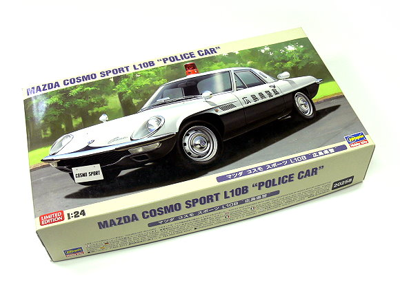 Details about Hasegawa Automotive Model 1/24 Car Mazda Cosmo Sport L10B  Police Car 20258 H0258