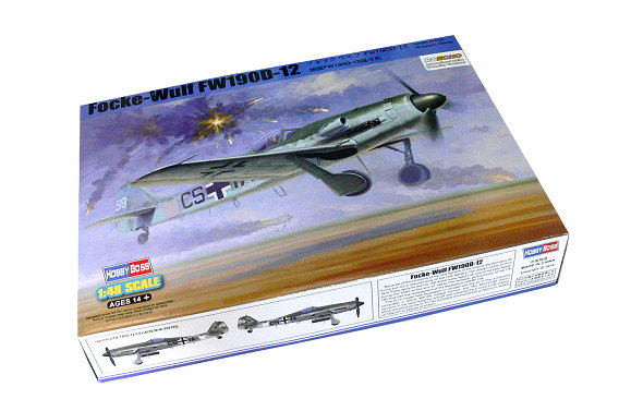 Hobbyboss 81719 1:48th scale Focke-Wulf FW190D-12