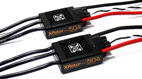 HOBBYWING XRotor Pro 50A RC Brushless Motor ESC Speed Controller