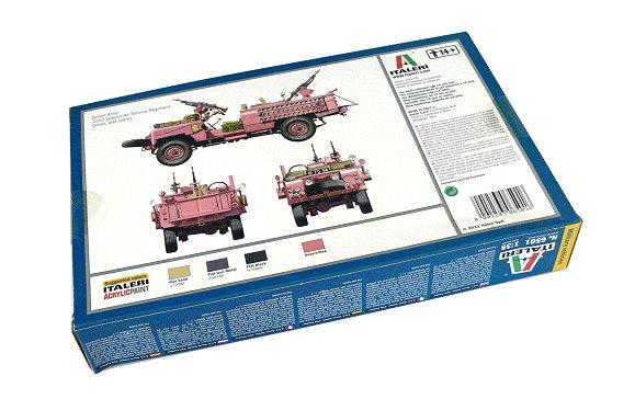 Recon Vehicle Pink Panther Neu Italeri 6501-1//35 S.A.S