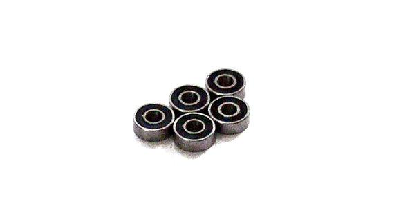 RCS RC Model Engine Bearing CN484 14x25.4x6mm, Ceramic Balls, Open, 5pcs