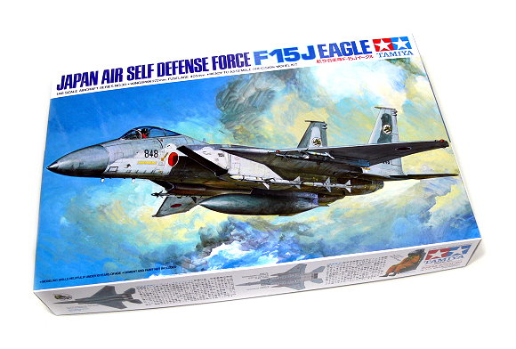 Tamiya 1//48 F-15J EAGLE Japan Air Self Defense Force # 61030