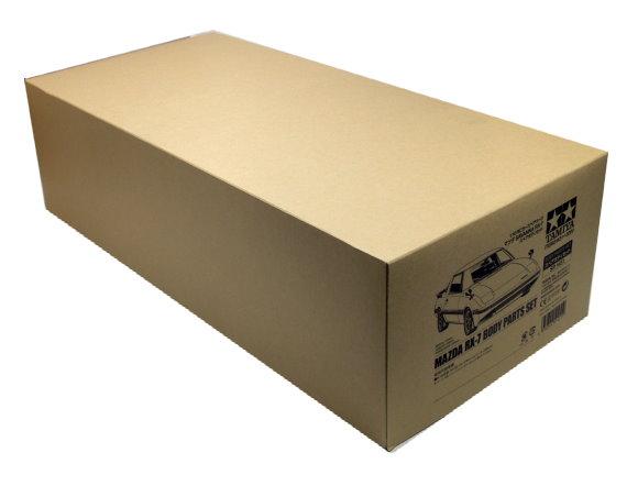Tamiya Rc Car Body 1 10 Scale R C Mazda Rx 7 Body Parts Set 51451