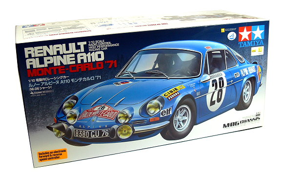 Tamiya Ep Rc Car 110 Renault Alpine A110 Monte Carlo 71 M06 With
