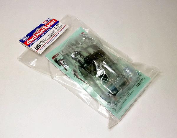 Tamiya 95101 Mini 4WD Body Set Festa Jaune 35th Anniversary Clear L