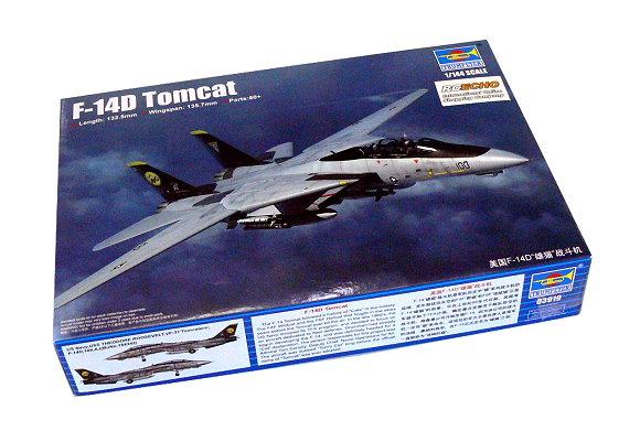 Trumpeter 06220/model Kit Grumman F 14/d Tomcat